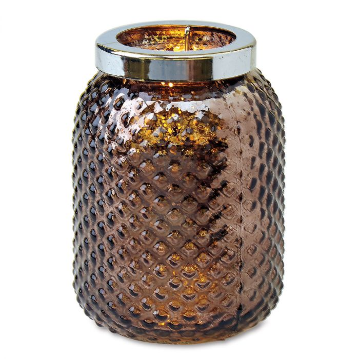 Bronze Metallic Votive Holder by Current Catalog