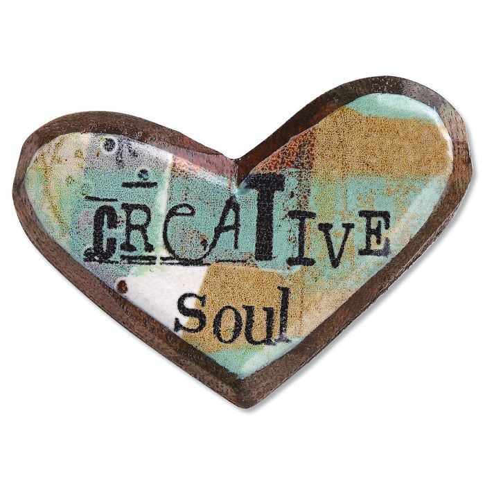 Wooden Pins - Creative Soul