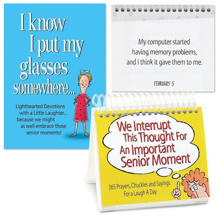 Calendar and I Know I Put My Glasses Somewhere Book