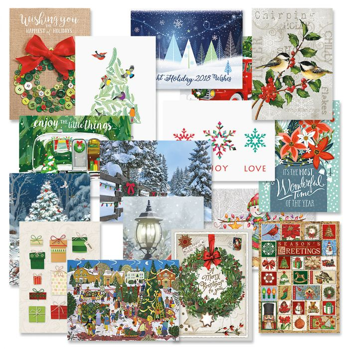 Classic Christmas Card Value Pack