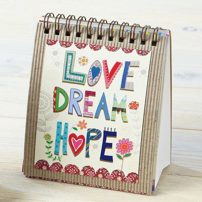 Love Dream Hope Easel Book