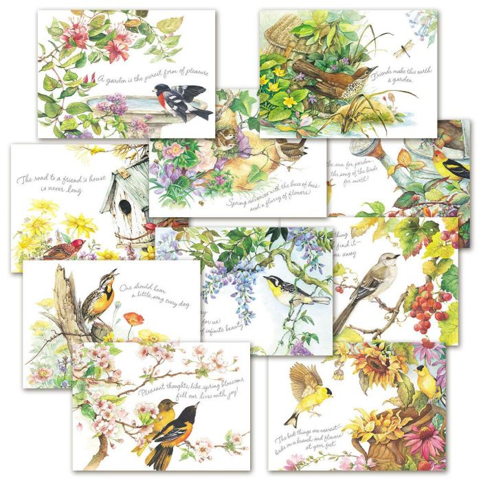 Nature's Serenade Faith and Friendship Greeting Cards Value Pack