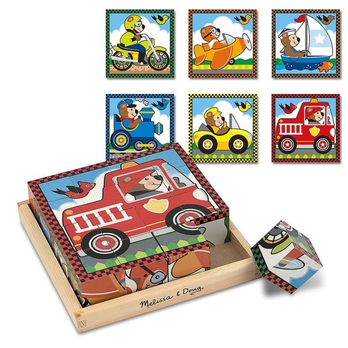 Vehicles Cube Puzzle by Melissa & Doug®