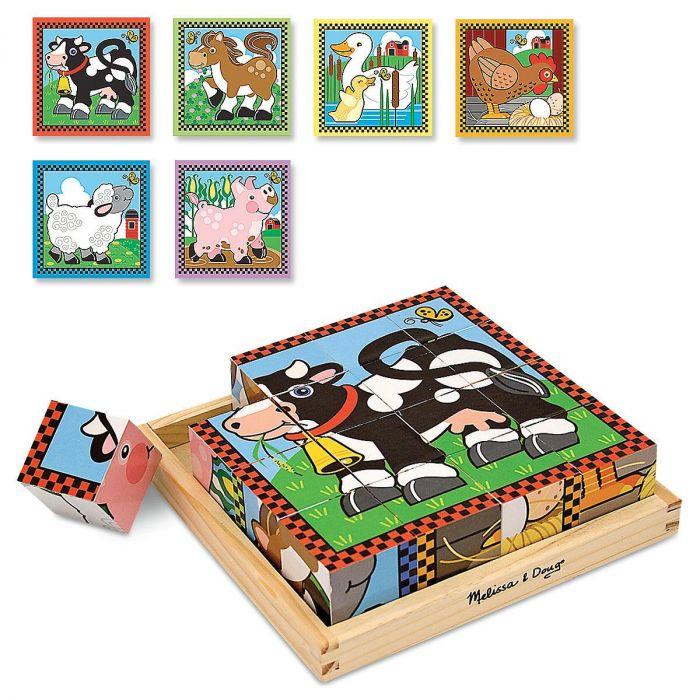 Farm Cube Puzzle by Melissa & Doug®