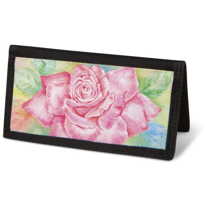 Floral Fancy  Checkbook Cover - Non-Personalized