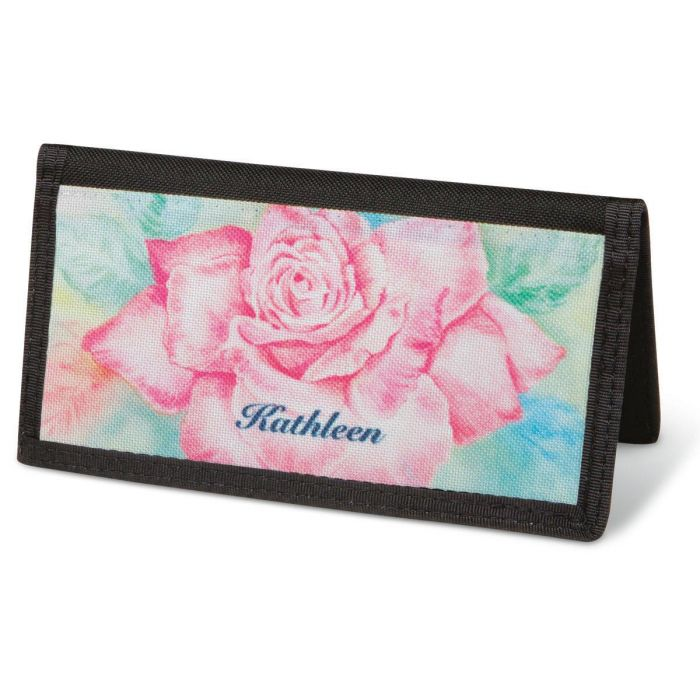 Floral Fancy  Checkbook Cover - Personalized