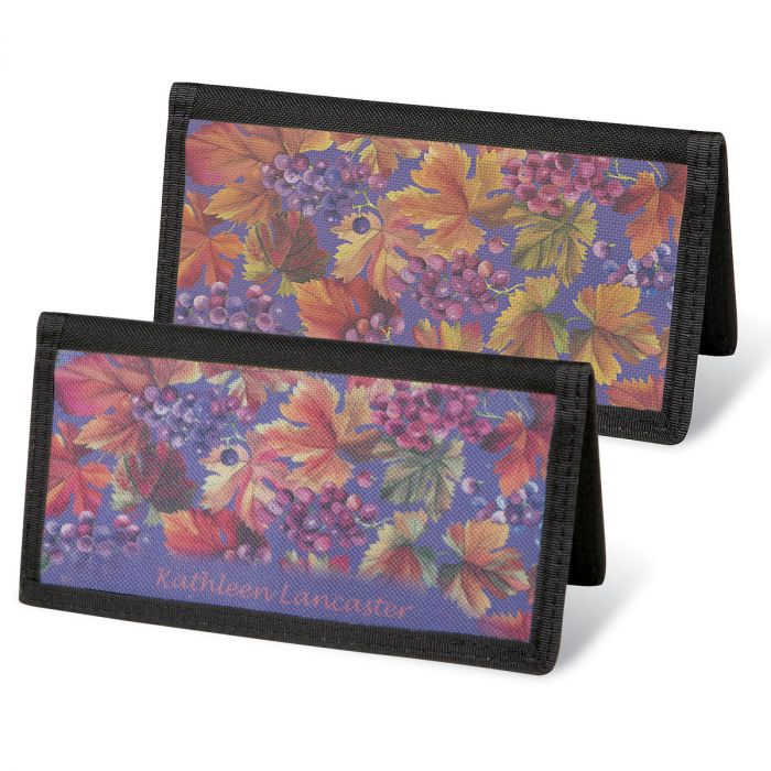 Vineyard  Checkbook Covers