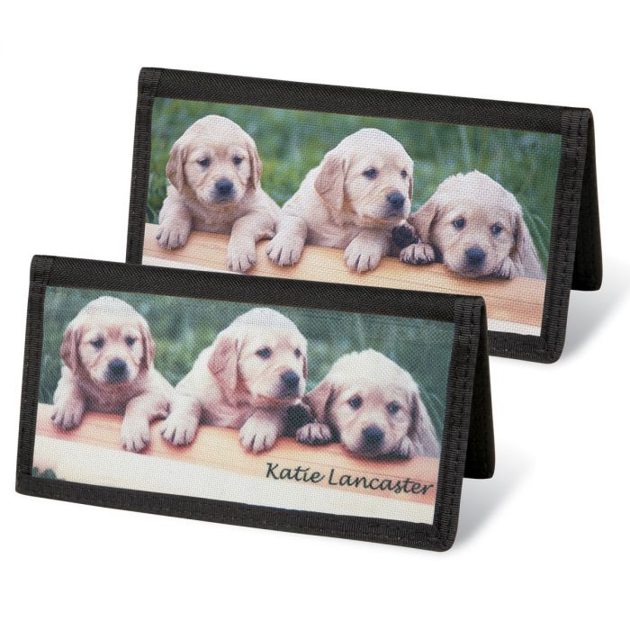 Puppy Love  Checkbook Covers