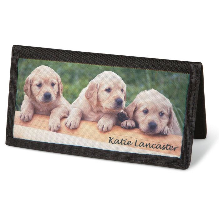 Puppy Love  Checkbook Covers - Personalized