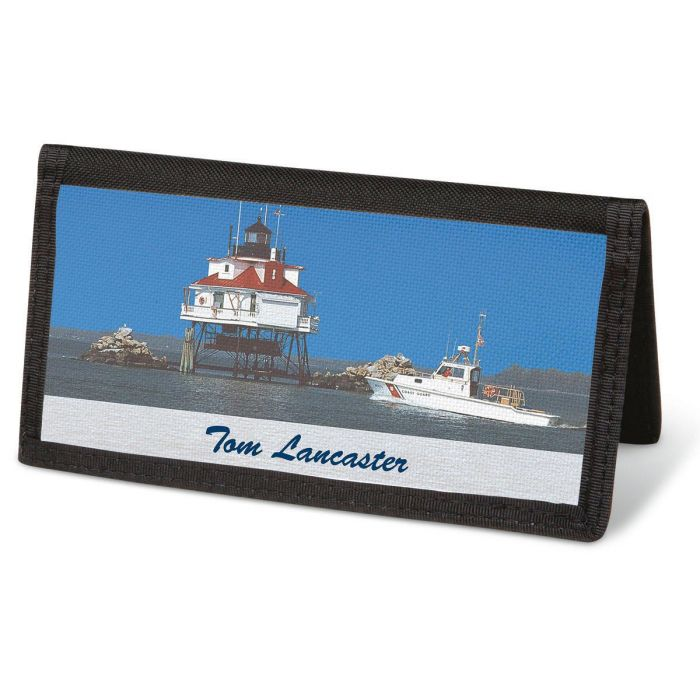 Scenes of America  Checkbook Cover - Personalized