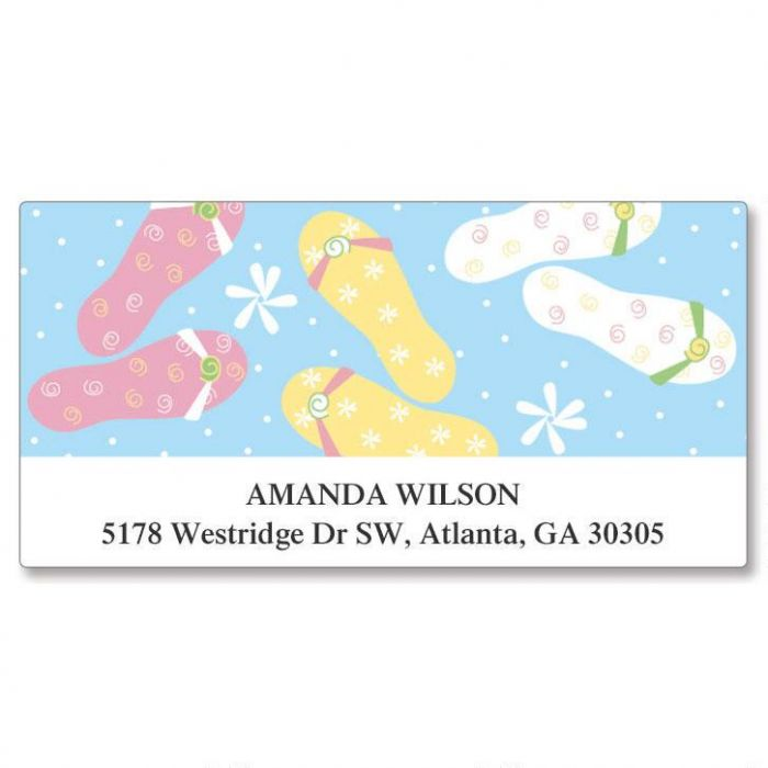Flip-Floppin Deluxe Address Labels
