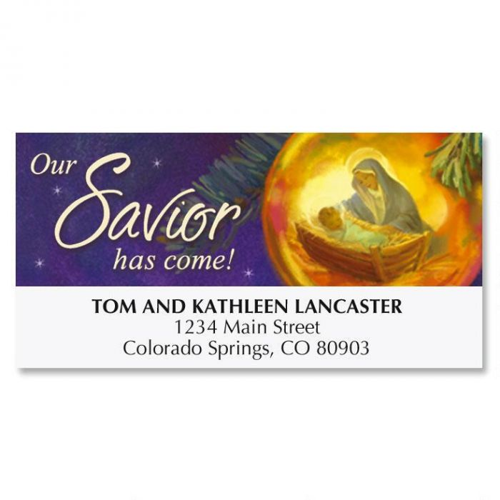 Reflections Christmas Deluxe Address Labels