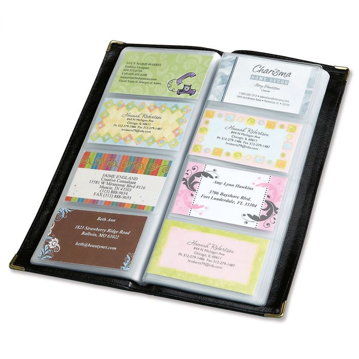 Business Card Organizer - Desk Accessories Sale - Home Office Sale ...