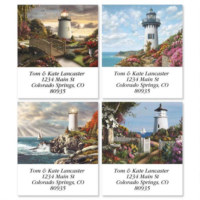 Lighthouses Select Address Labels  (4 designs)