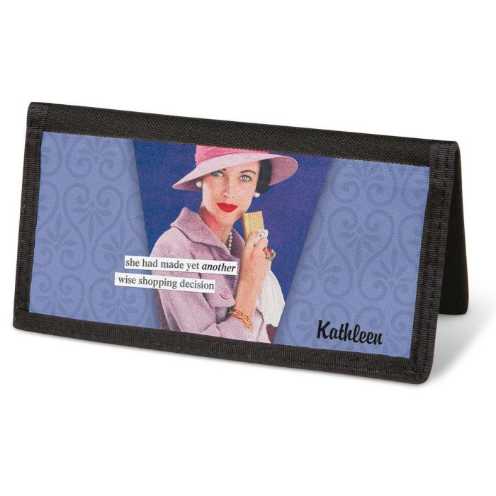 ©Anne Taintor  Checkbook Covers - Personalized