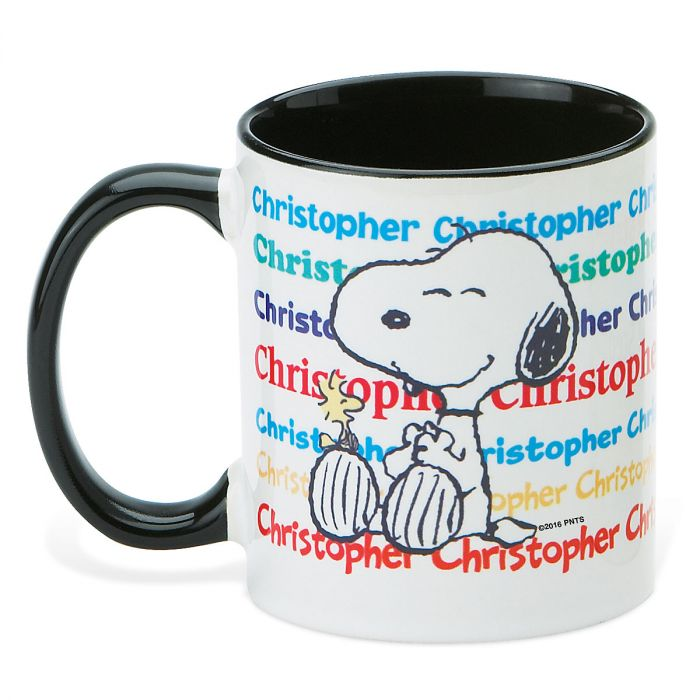 PEANUTS® Name Personalized Mug