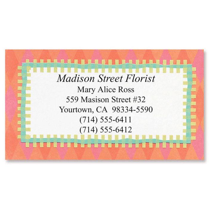 Bright Fun Designer Calling Cards