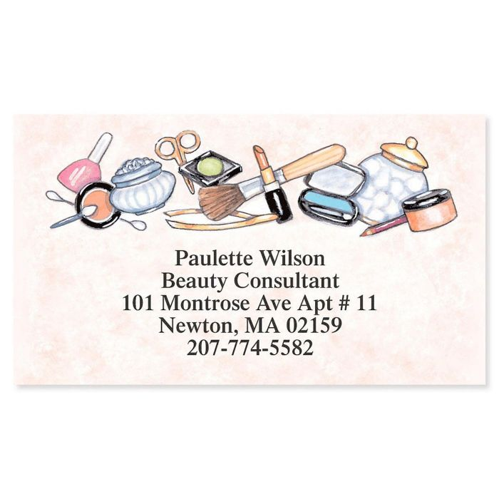 Beauty Consultant Designer Calling Cards