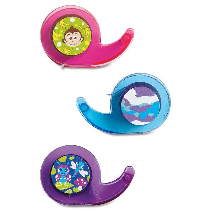 Monkey/Camo/Bugs Mini Tape Dispenser