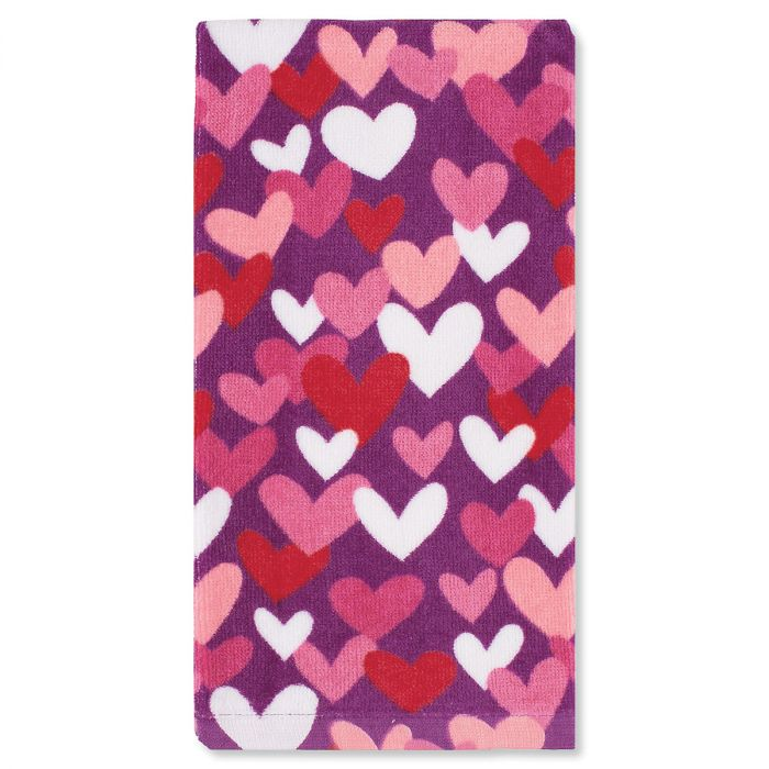 Hearts All Over Valentine Kitchen Towel