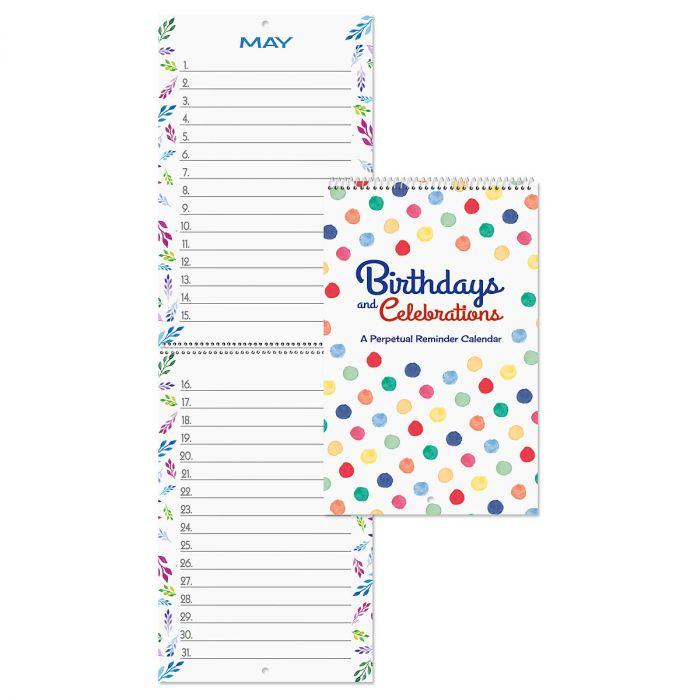 Just for Birthdays Mini Calendar