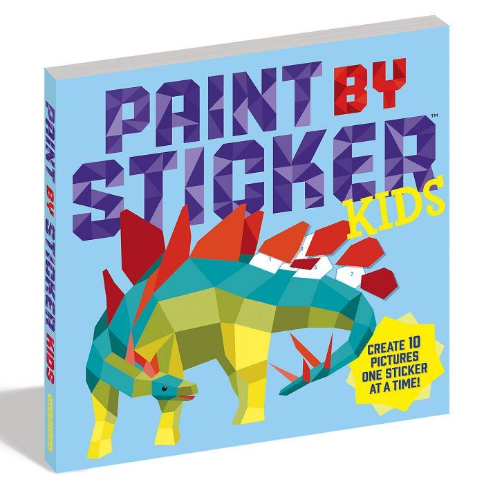 Kids Paint by Sticker Book