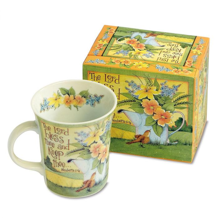 The Lord Bless Thee Faith Mug and Matching Gift Box