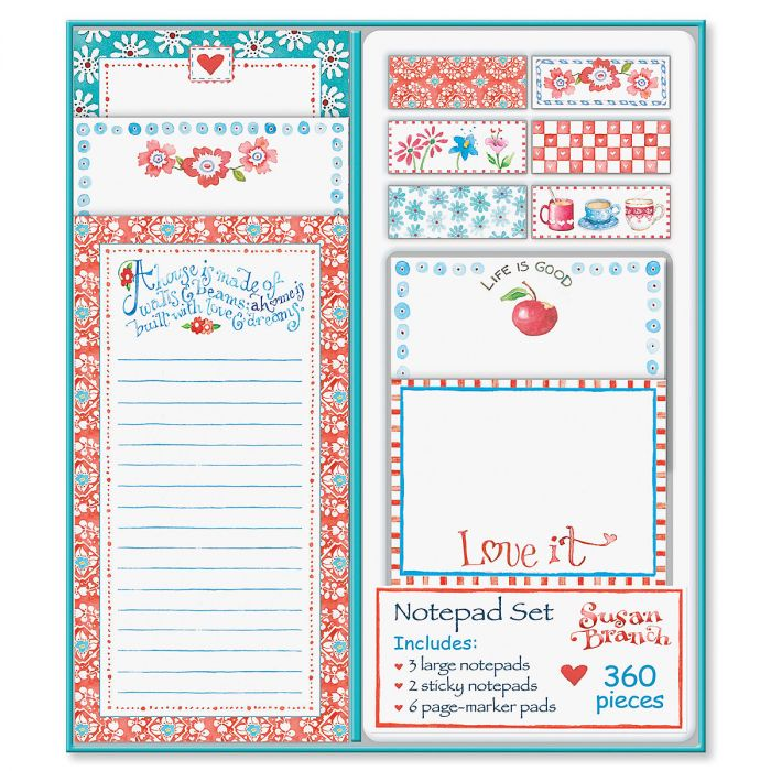 Susan Branch Notepad Set