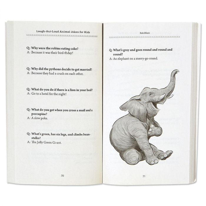 Animal Laugh Out Loud Kids' Jokes Book by Rob Elliott