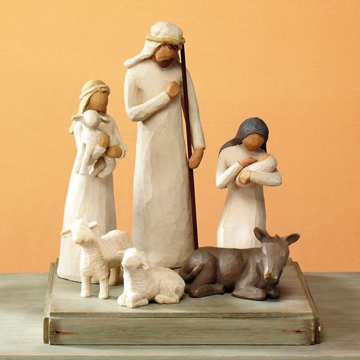 Willow Tree® for Demdaco Holy Family 6-Piece Nativity Starter Set