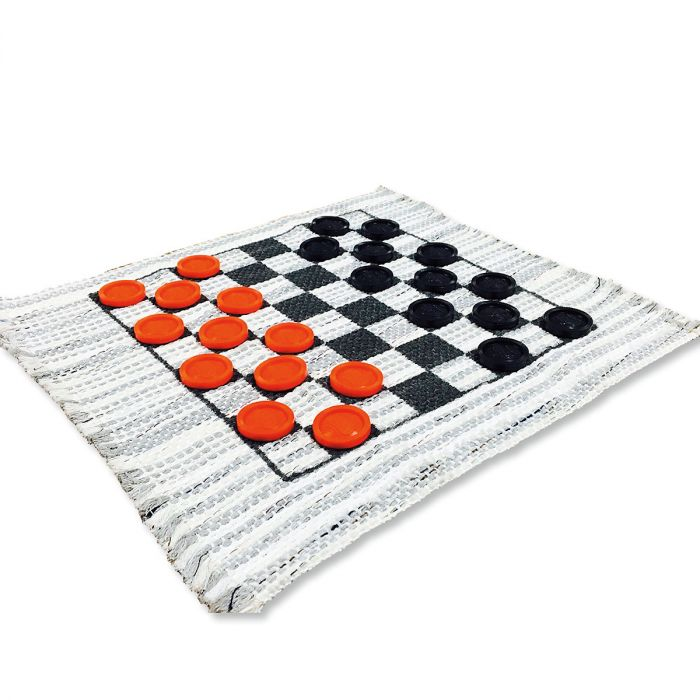 Mini Travel Checker Rug