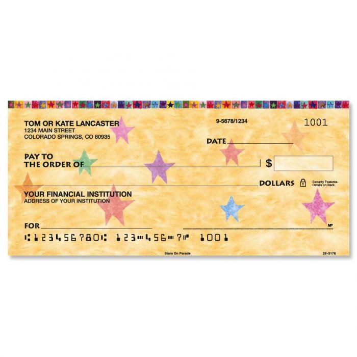 Stars on Parade Single Checks