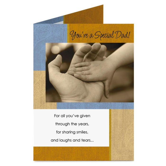 Special Dad Father's Day Card