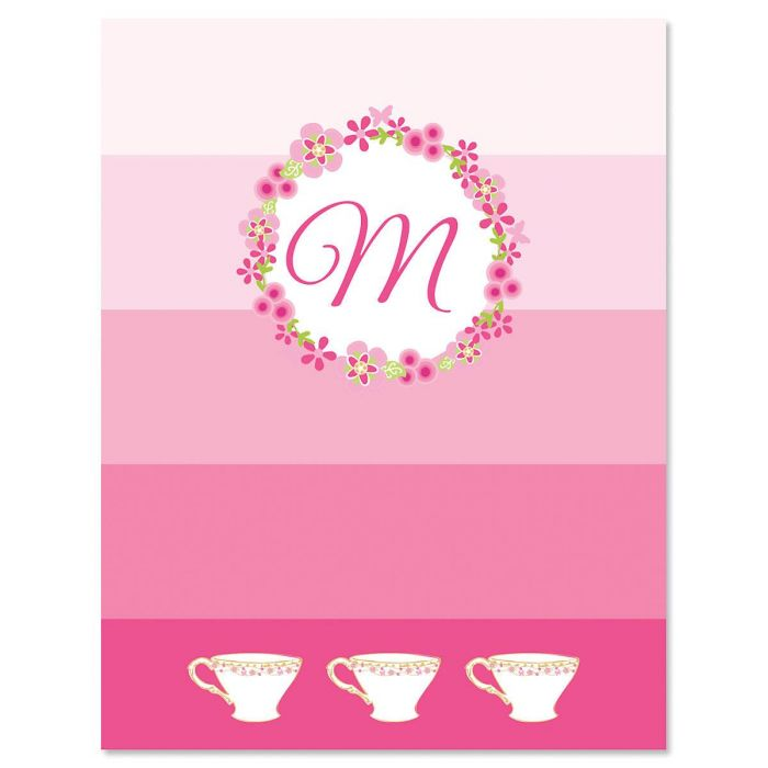 Tea Party Note Cards