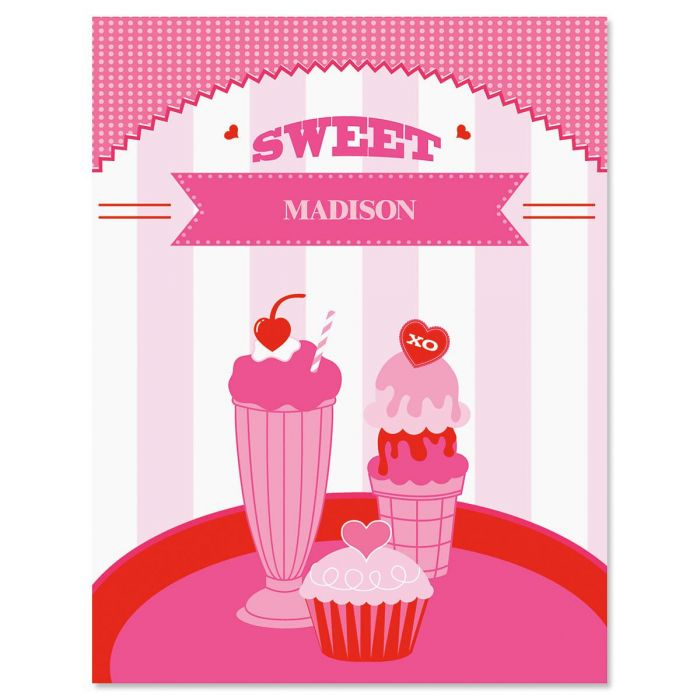 Sweet Shop Note Cards