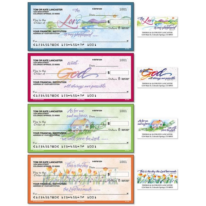 Verses of Virtue Duplicate Checks With Matching Address Labels
