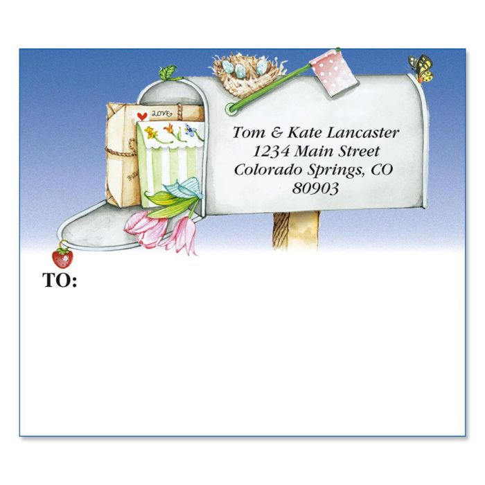 Keep in Touch Mailing Package Label