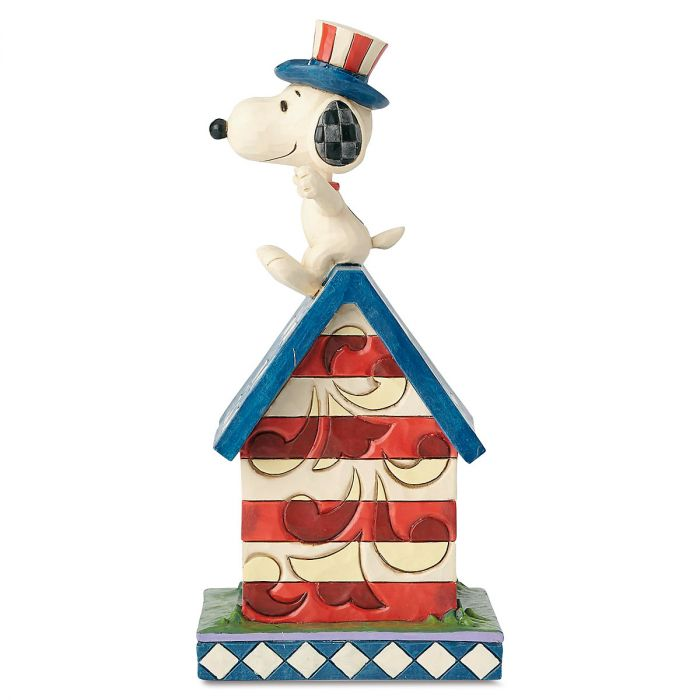 Snoopy's™ Patriotic Doghouse by Jim Shore