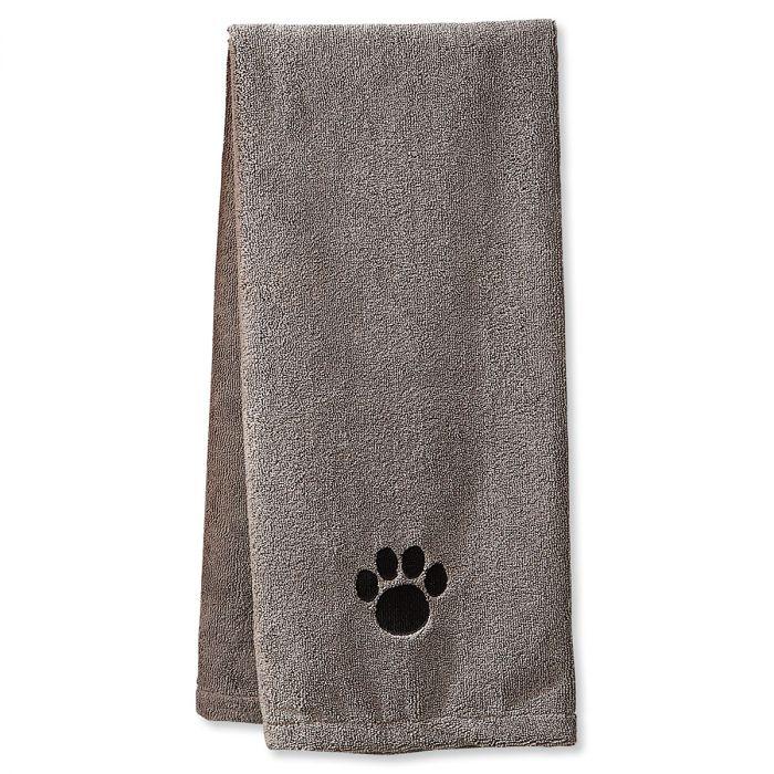 Gray Pet Drying Towel