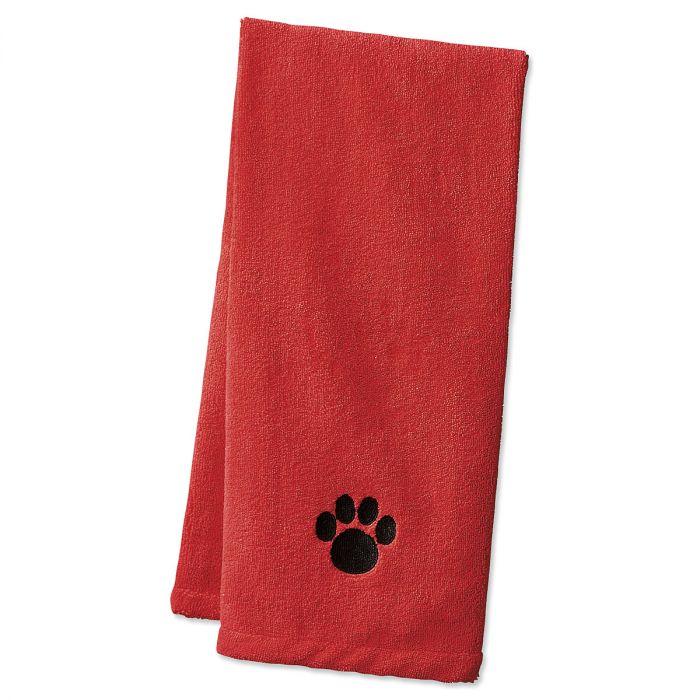 Pet Drying Towels - Red