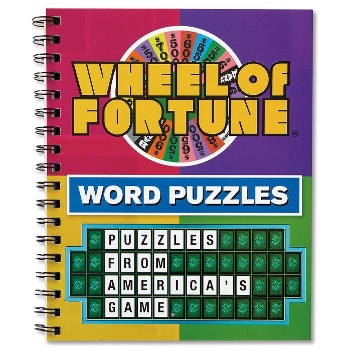 Wheel of Fortune® Puzzle Book