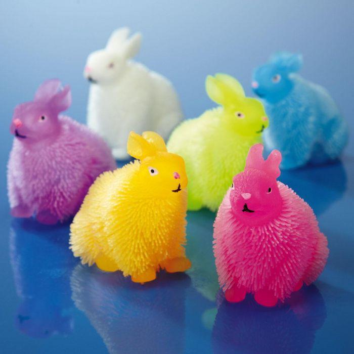 Light-Up Puffer Rabbit