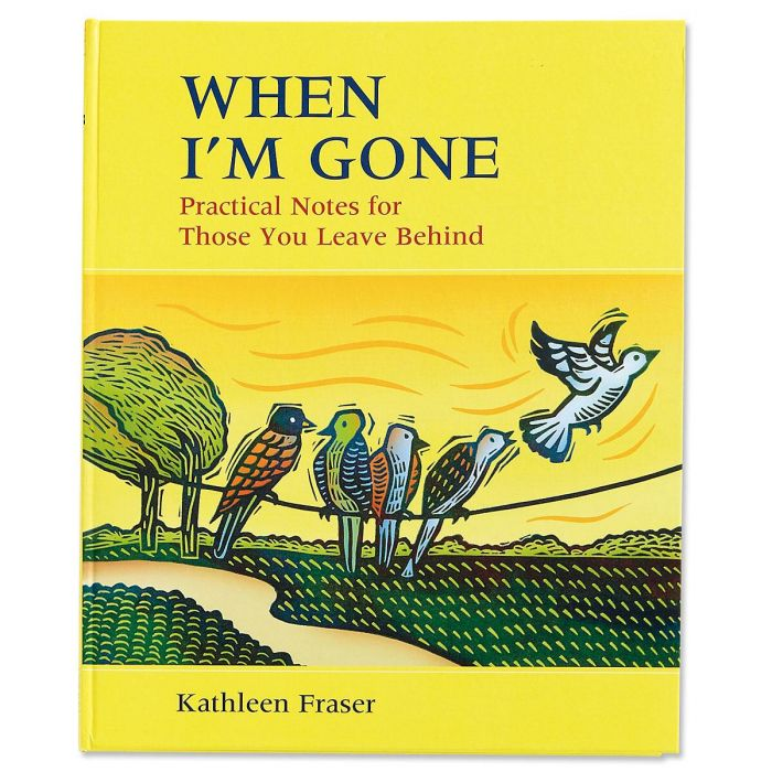 When I'm Gone Planner