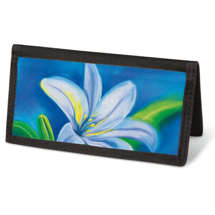 Floral Whispers Checkbook Cover - Non-Personalized