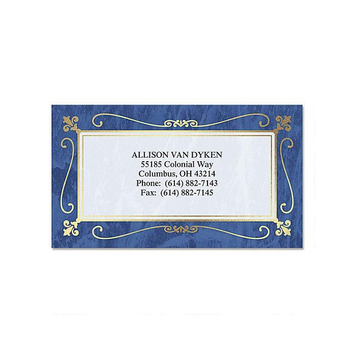 Imperial Foil Business Cards