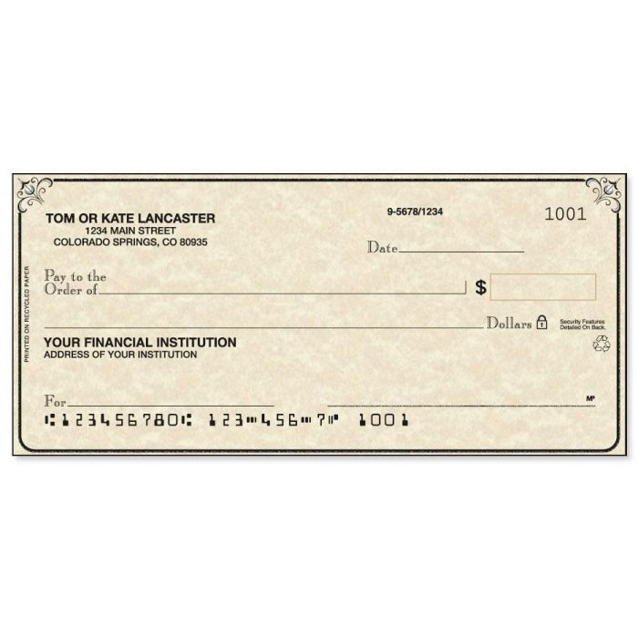 Antique Checks