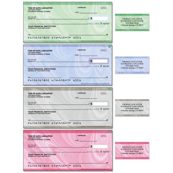 Genesis Single Checks With Matching Address Labels
