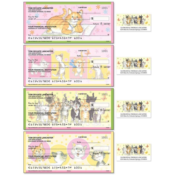 Whiskers Duplicate Checks with Matching Address Labels