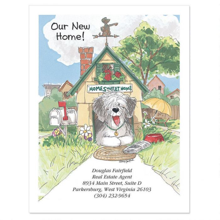Wags and Whiskers® Moving New Address Postcards