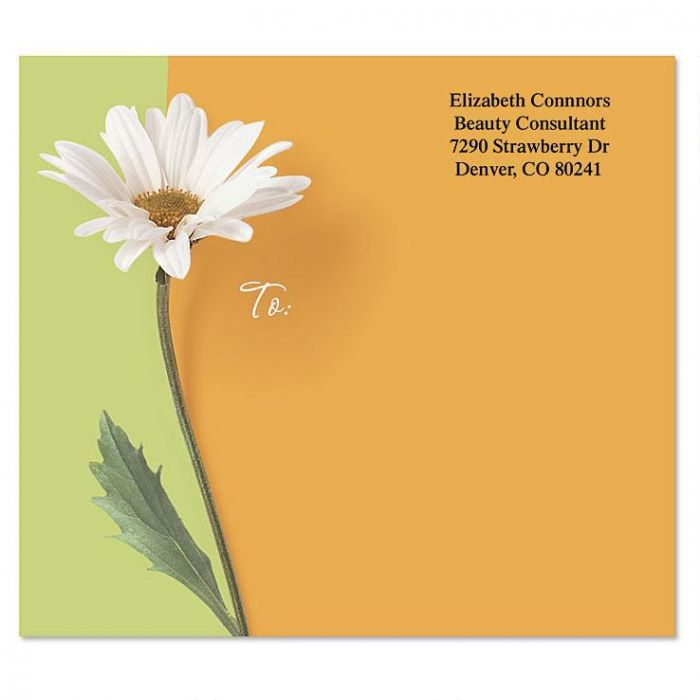 Portraits Of Spring Mailing Package Label
